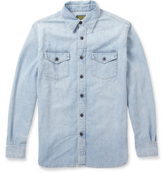 Jean Shop Washed-Denim Shirt
