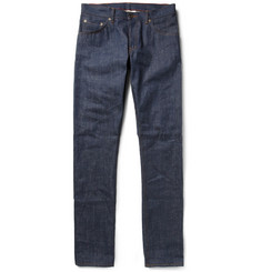 Raleigh Denim Martin Slim-Fit Slub-Denim Jeans