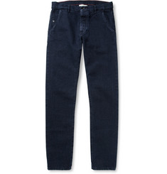 Raleigh Denim Graham Slim-Fit Washed Denim Jeans