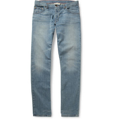 Raleigh Denim Jones Slim-Fit Washed Denim Jeans