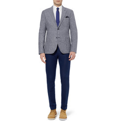 Raleigh Denim Slim-Fit Unstructured Linen and Cotton-Blend Blazer