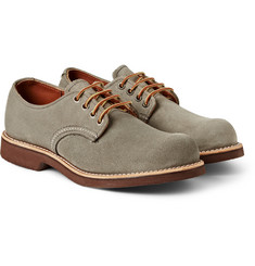 Red Wing Shoes Foreman Suede Derby Shoes