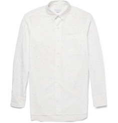 Ovadia & Sons Fleck-Print Lightweight Cotton Shirt