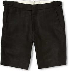 Ovadia & Sons Pierre Woven-Silk Shorts