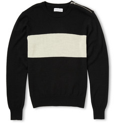 Ovadia & Sons Yacht Stripe Wool and Cashmere-Blend Sweater