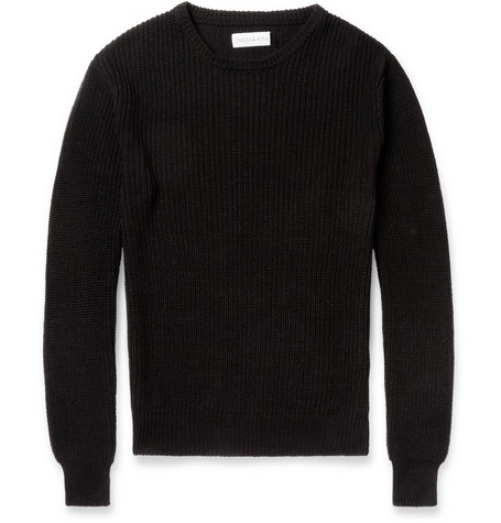 Ovadia & Sons Slim-Fit Knitted-Silk Sweater