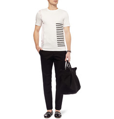 Tim Coppens Mesh and Cotton-Jersey T-Shirt