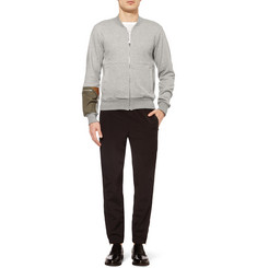 Tim Coppens Loopback Cotton-Jersey Bomber Jacket