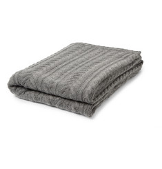 Armand Diradourian Cable-Knit Cashmere Blanket