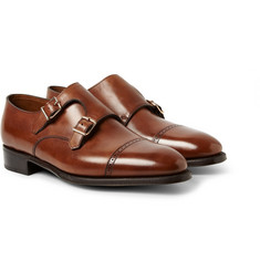 John Lobb - Phillip II Leather Monk-Strap Shoes