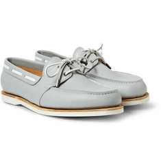 John Lobb Livonia Leather Boat Shoes