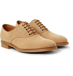 John Lobb Savannah Canvas Oxford Shoes