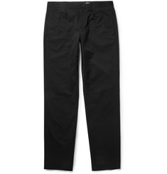 A.P.C. Slim-Fit Pleated Cotton Trousers