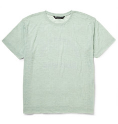 Marc by Marc Jacobs Burnout-Effect Cotton-Blend Jersey T-Shirt