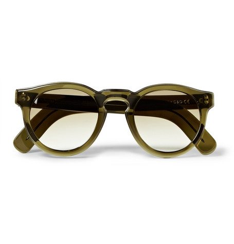 Cutler and Gross Round-Frame Sunglasses