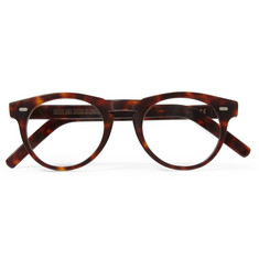 Cutler and Gross Round-Frame Matte-Acetate Optical Glasses