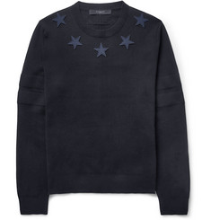 Givenchy Embroidered-Star Sweater