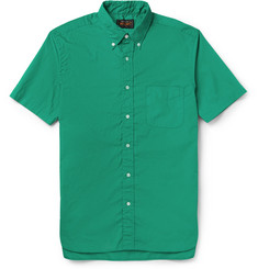 Beams Plus Slim-Fit Button-Down Collar Cotton Shirt