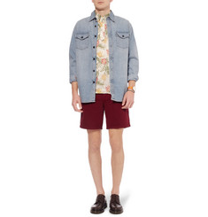 Beams Plus Printed Linen Shirt