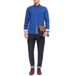 Beams Plus Button-Down Collar Linen Shirt