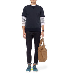 Beams Plus Loopback Cotton-Jersey Short-Sleeved Sweatshirt