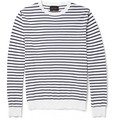 Beams Plus - Striped Knitted-Cotton Sweater