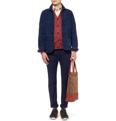 Beams Plus Knitted-Linen Cardigan