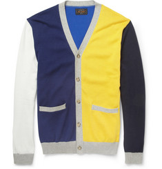 Beams Plus Knitted Cotton Cardigan