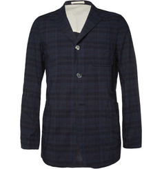 Beams Plus Unstructured Lightweight Check Cotton Blazer