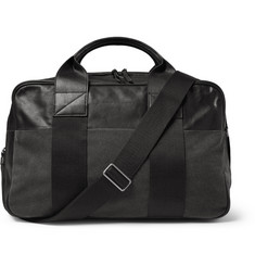 Marc by Marc Jacobs Leather and Canvas Holdall Bag