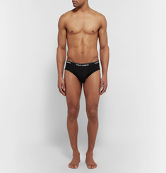 Dolce & Gabbana Two-Pack Stretch-Cotton Briefs