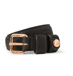 Parabellum Black 2.5cm Bison Belt