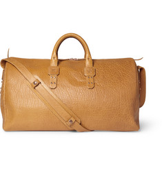 Parabellum Full-Grain Bison Leather Holdall Bag