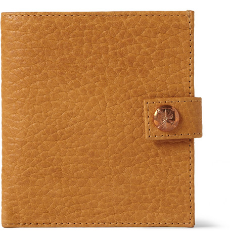 Parabellum Embossed Bison Leather Billfold Wallet