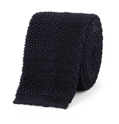 Drake's Knitted Silk Tie