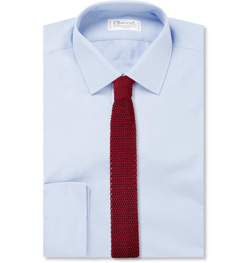Charvet 5cm Knitted Silk Tie