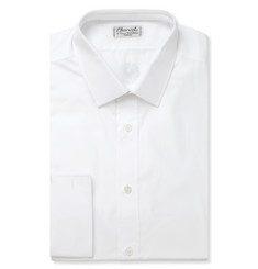 Charvet Slim-Fit White Cotton Shirt