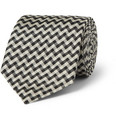 Marwood - Patterned Woven-Silk Tie