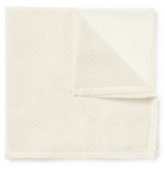 Marwood Fine Cotton-Lace Pocket Square