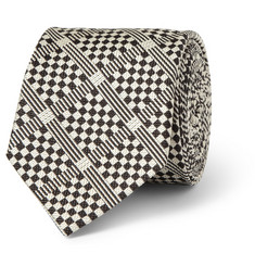 Marwood Patterned Woven-Silk Tie