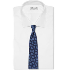 Charvet Paisley-Patterned Woven-Silk Tie