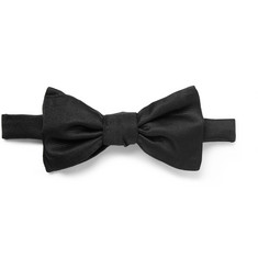 Charvet Ribbed Silk Bow Tie