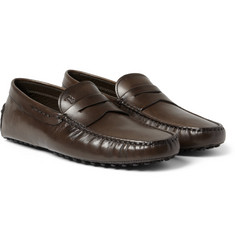 Tod's Gommino Winter Sole Leather Driving Shoes