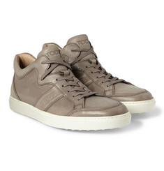 Tod's Vintage Leather Sneakers