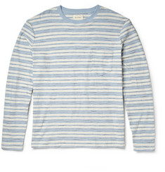 Billy Reid Striped Cotton Long-Sleeved T-Shirt