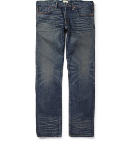 Simon Miller M002 Park View Regular-Fit Washed Selvedge Denim Jeans