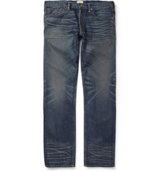 Simon Miller Regular-Fit Washed Selvedge Denim Jeans