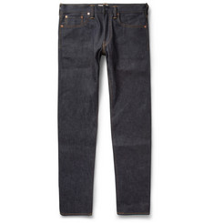 Simon Miller Slim-Fit Dry Selvedge Denim Jeans