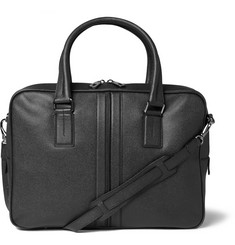 Tod's Large Cross-Grain Leather Briefcase