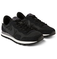 Nike Pegasus 83 Mesh and Suede Sneakers